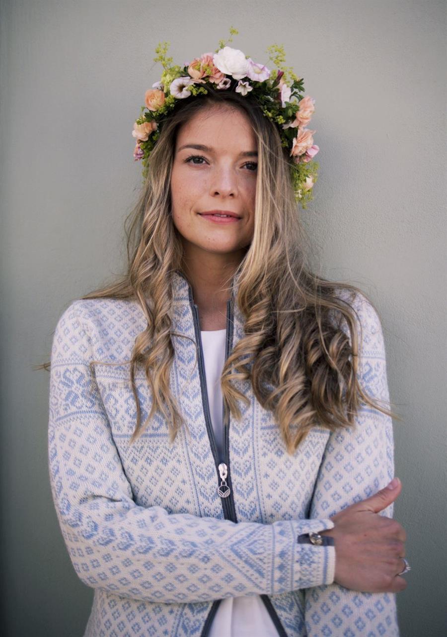 Dale of Norway Sunniva Feminine Jacket NavyOff White