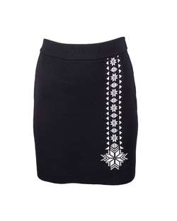 fd1d1813 Dale of Norway Geilo Skirt - Black / Off White