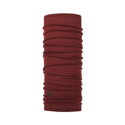 Buff Lightweight Merino Wool Buff - Solid Wine