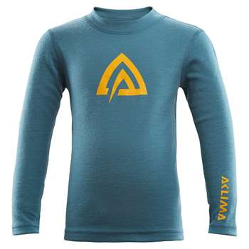 Aclima WarmWool Crew Neck Children/Junior [Marengo/Tapestry]