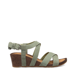 Teva Mahonia Wedge Cross Strap W -Calliste Green - Damesandal