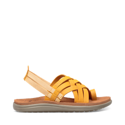 Teva Voya Strappy Leather W - Sunflower - Damesandal