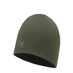 Buff Heavyweight Merino Wool Hat Regular - Solid Forest Night