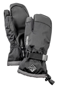 Hestra Gauntlet CZone Junior 3-finger - Black