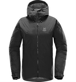 Haglöfs Niva Proof Down Jacket Women - True Black