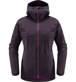 Haglöfs Niva Proof Down Jacket Women - Acai Berry