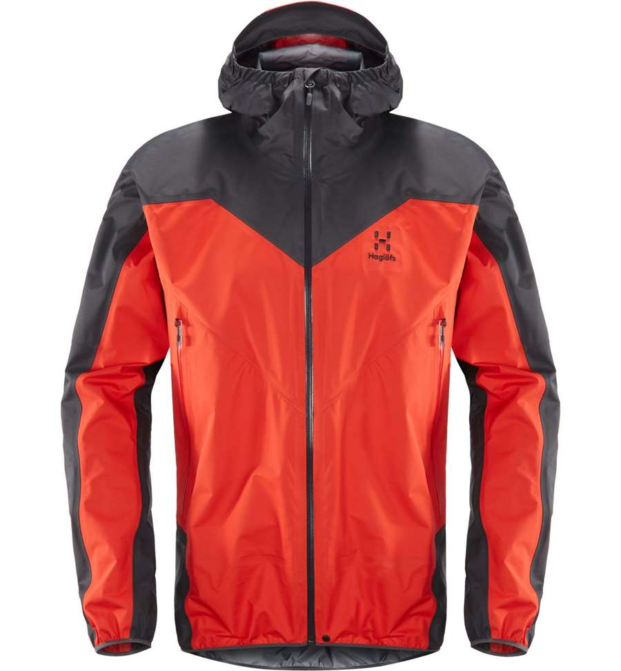 Haglöfs L.I.M Comp Jacket Men - Pop Red/Slate