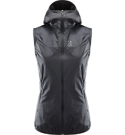 Haglöfs Aran (Valley) Vest Women - True Black