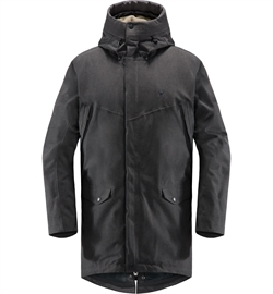 Haglöfs Siljan Parka Men - True Black Melange