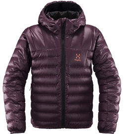 Haglöfs Bivvy Reversible Hood Junior - Aubergine/True Black
