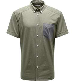 Haglöfs Vejan SS Shirt Men - Sage Green