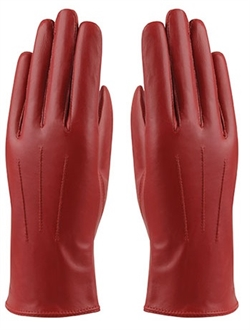 MJM Angelina Leather Glove W [Red]