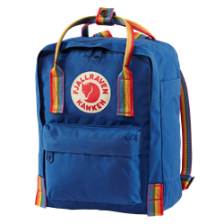 Fjällräven Kånken Rainbow Mini [Deep Blue/Rainbow Pattern]