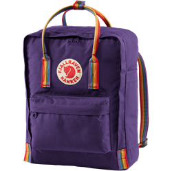 Fjällräven Kånken Rainbow [Purple/Rainbow Pattern]