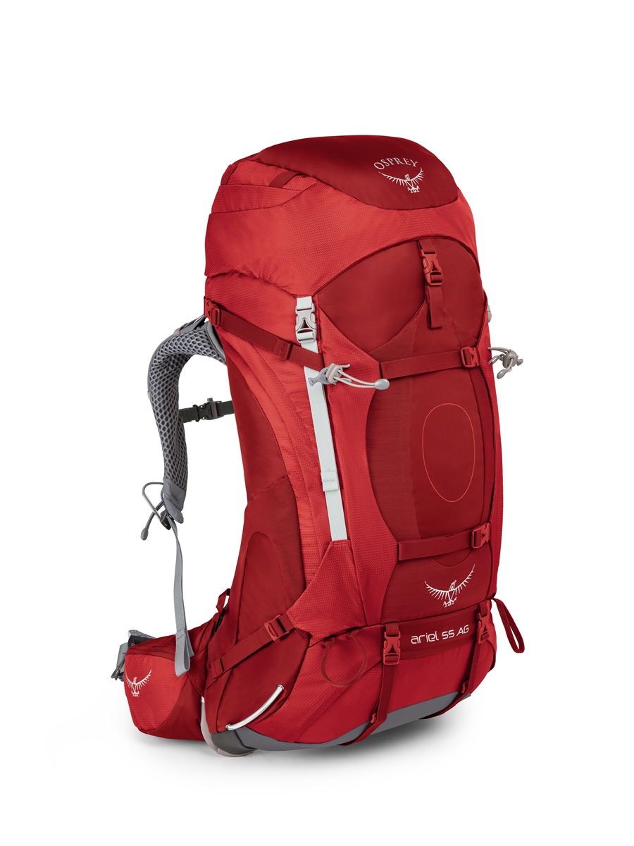 Osprey Ariel AG 55 - Picante Red