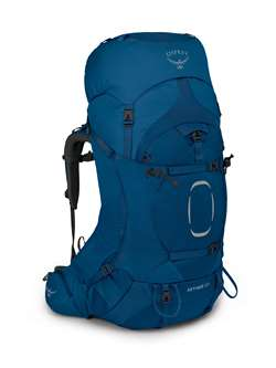 Osprey Aether 65 - Deep Water Blue - Men's - Vandrerygsæk