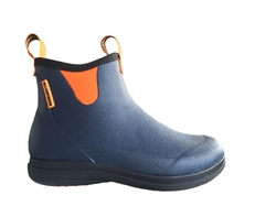 LaCrosse Hampton II Women - Navy/Popsicle Orange - Gummistøvle Lav