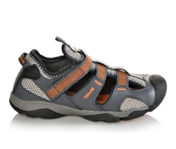Teva: Kids Jansen Leather [Dark Grey]