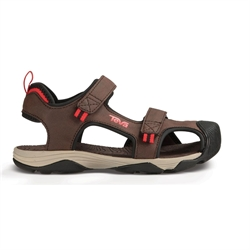 Teva: Kids Toachi 4 [Chocolate/Black/Red]