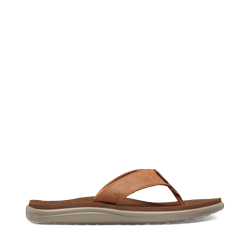 Teva Women's Voya Flip Leather - Chipmunk