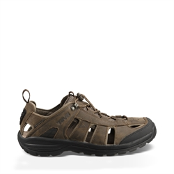 Teva Men's Kimtah Sandal Leather - Turkish Coffee