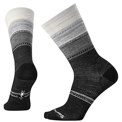 Smartwool: Women's Sulawesi Stripe Socks [Charcoal Heather]