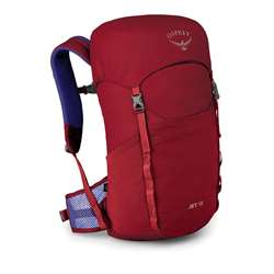Osprey Jet 18 Unisex Barn / Juniorrygsæk - Cosmic Red
