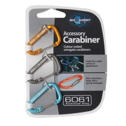 Sea to Summit: Accessory Carabiner 3-Pieces