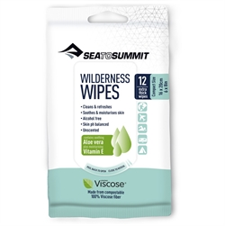 Sea to Summit: Wilderness Wipes [12 Wipes]