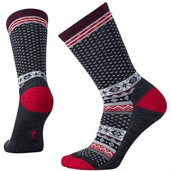 Smartwool: Women's Cozy Cabin Crew Socks [Charcoal Heather]