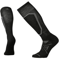Smartwool PhD Ski Medium Socks [Black] Unisex