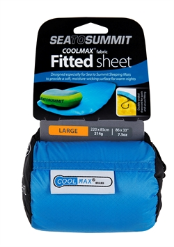 Sea to Summit Coolmax® Fitted Sheet [Large]