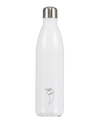 Chilly\'s Bottles Matte Edition White 750 ml