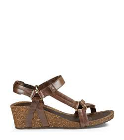 Teva Ysidro Universal Wedge Metallic W - Brown Metallic - Damesandal