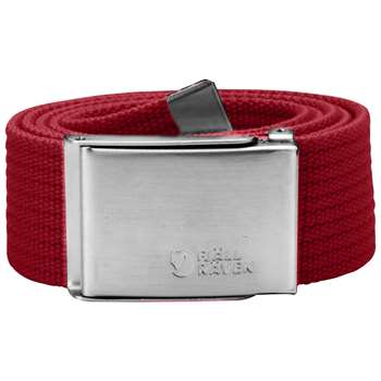 Fjällräven Canvas Belt [Deep Red] 4 cm