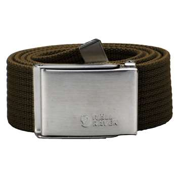 Fjällräven Canvas Belt [Dark Olive] 4 cm