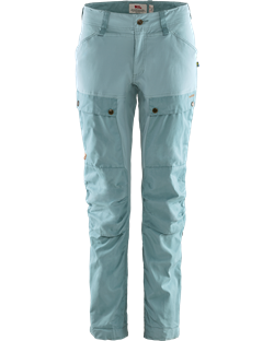 Fjällräven Keb Trousers Curved Women Regular [Clay Blue/Mineral Blue]