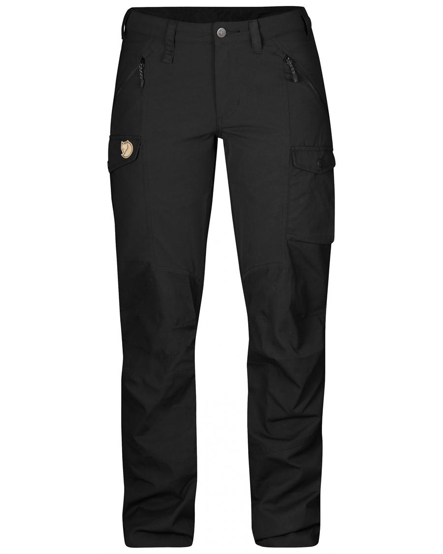 Fjällräven Nikka Trousers Regular [Black]