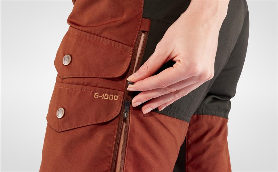 Fjällräven Vidda Pro Ventilated Trousers Women Regular [Black]