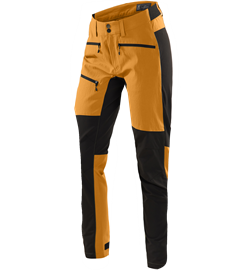 Haglöfs Rugged Flex Pant Women [Desert Yellow/True Black] Regular