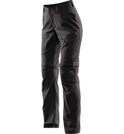 Haglöfs Zip Off Pant Women [True Black]