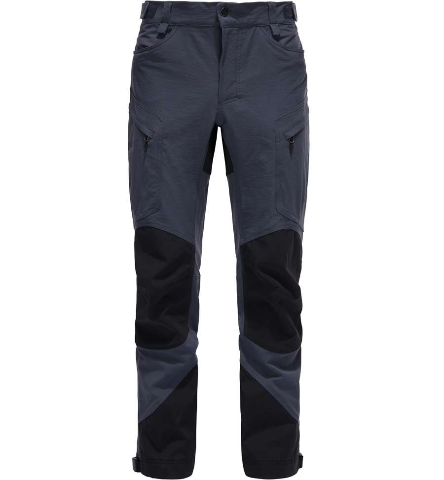 Haglöfs Rugged Mountain Pant Men - Regular - Dense Blue/True Black - Herrebuks