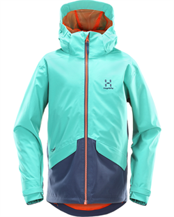 Haglöfs: Mila Jacket Junior [Crystal Blue/Tarn Blue]
