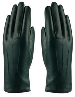 MJM Angelina Leather Glove W [Bottle Green]