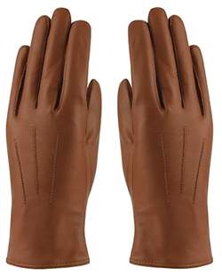 MJM Angelina Leather Glove W [Cognac]