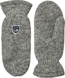 Hestra: Basic Wool Mitt [Grey]