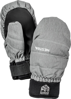 Hestra CZone Primaloft Mitten Junior - Grey/Black