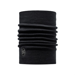 Buff Heavyweight Merino Wool Buff - Solid Black