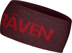 Fjällräven Logo Head Band [Dark Garnet/Deep Red]