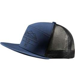 Haglöfs Trucker Cap [Tarn Blue/True Black]